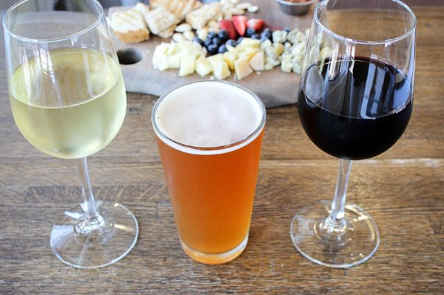 Join us for happy hour Monday through Friday 4pm-6pm! Discounted local craft pints and sustainable wines by the glass
