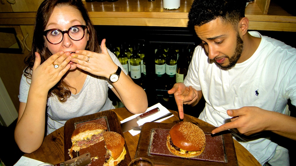 Honest London Flat Iron review truffle wagyu burger soho
