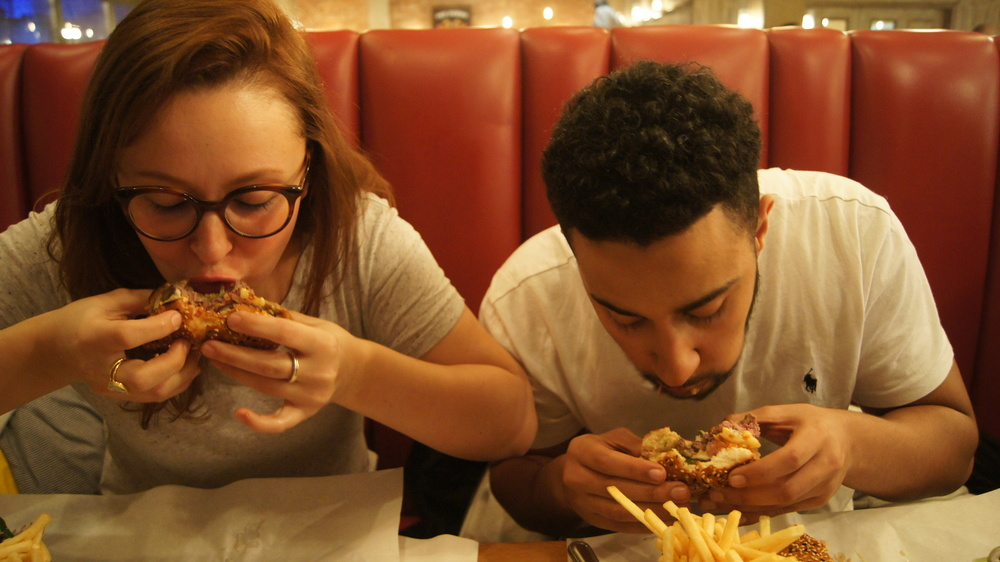 Honest London Burger and Lobster soho review cheeseburger bacon