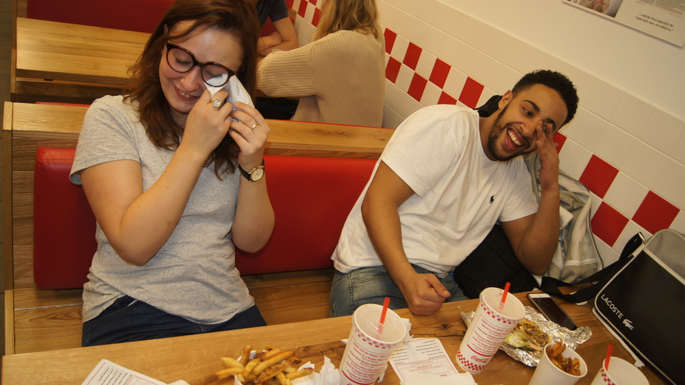 Hones London best cheeseburger review Five Guys soho