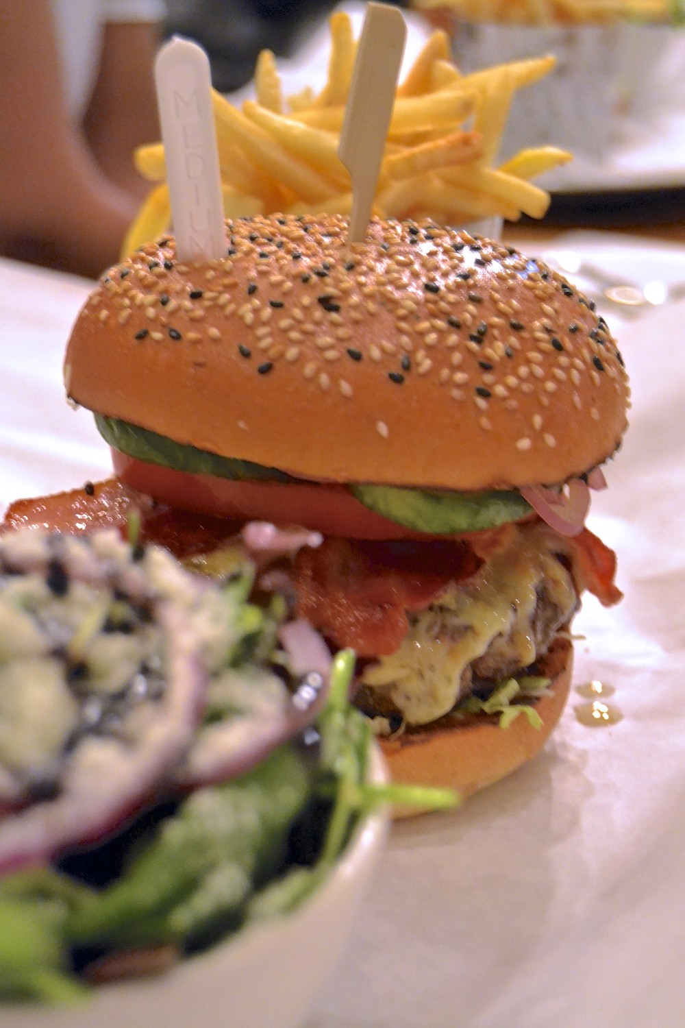 Honest London Burger and Lobster review soho cheeseburger
