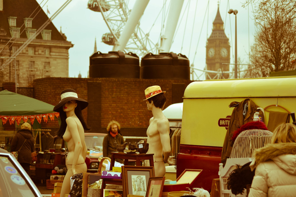 honest london vintage classic car boot sale south bank