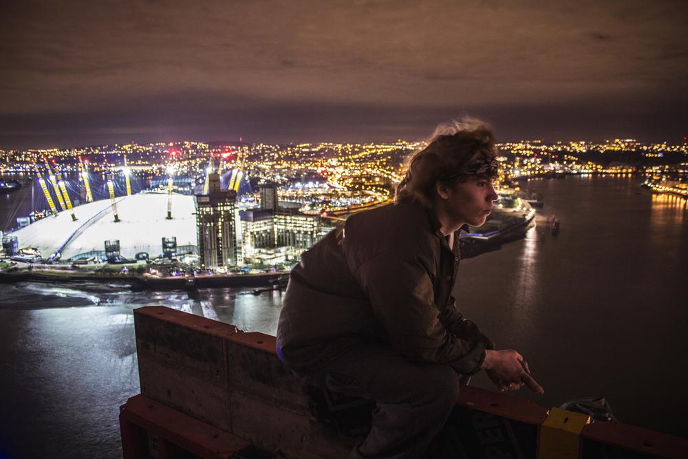 Honest London urban exploring lamarr golding parkour