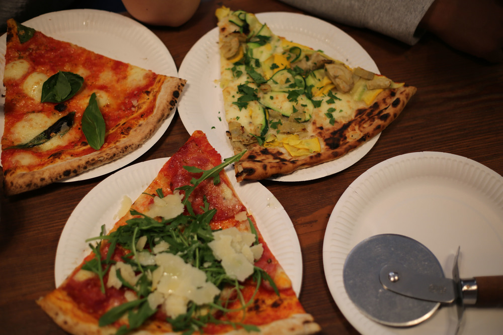 Honest London battle of the pizzas review Homeslice Neal's Yard