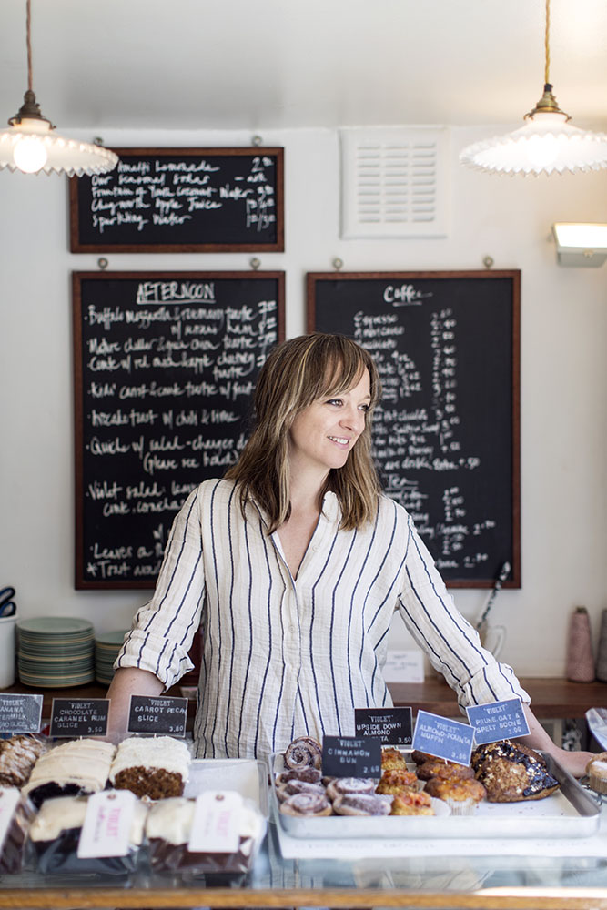 Honest London East London Food Violet Claire Ptak