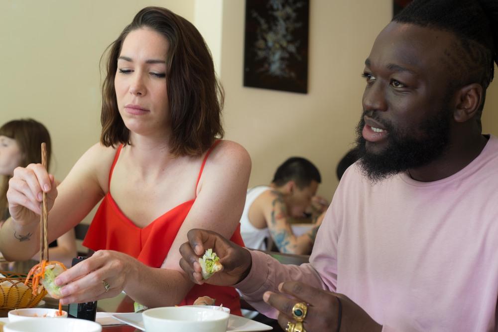 Honest London battle of the summer rolls food review Kingsland Road best vietnamese