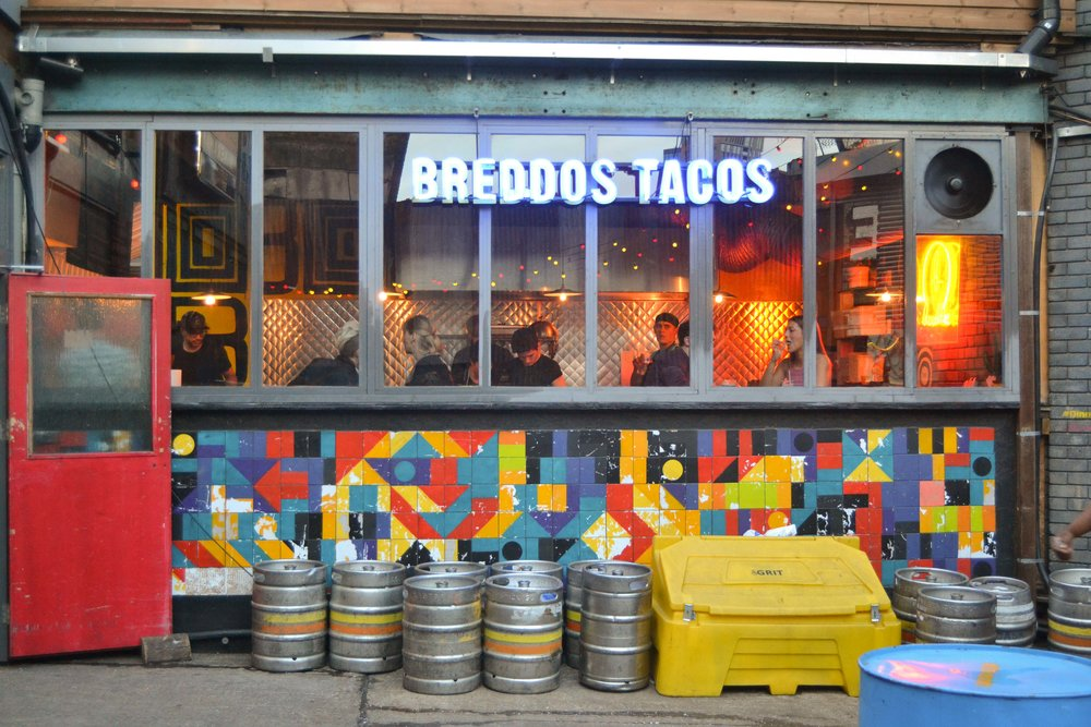 Honest London battle of the tacos best mexican food breddos tacos