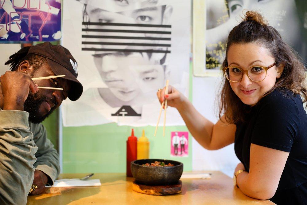 Honest London battle of the bibimbap Korean bbq beef