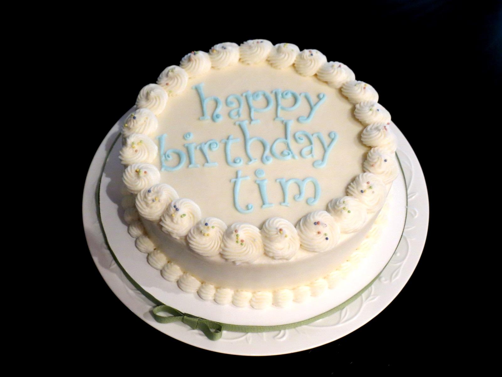 Special Diet Birthday Cake