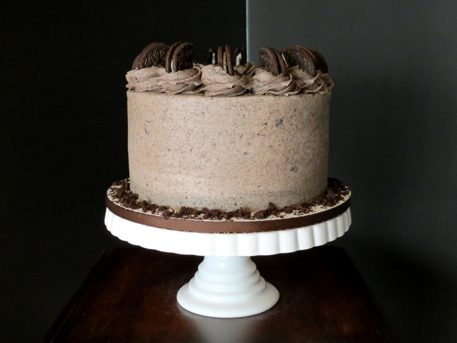 Vegan Cookies And Cream Decadent Chocolate Cake