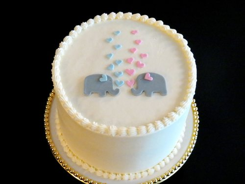 gender reveal cake or cupcakes sweet boutique bakery