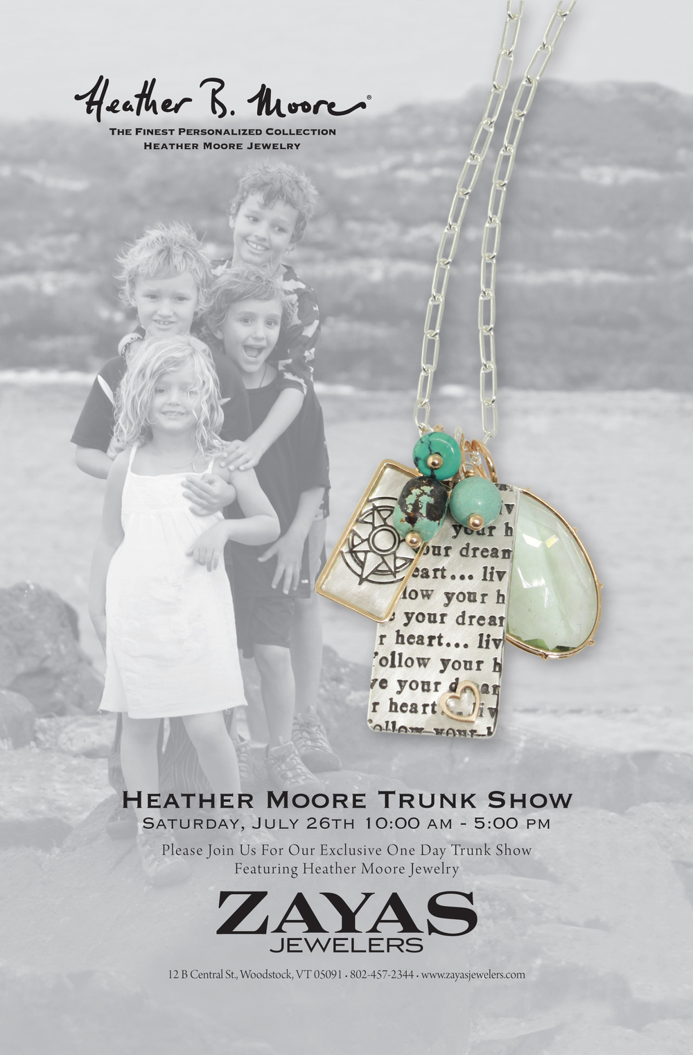 Heather moore trunk show at zayas jewelers
