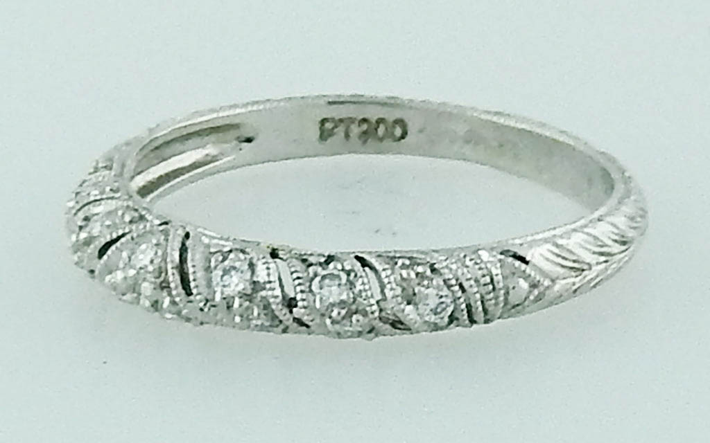 Filigree Wedding Band.Platinum Filigree Band Zayas Jewelers Of Woodstock Vermont