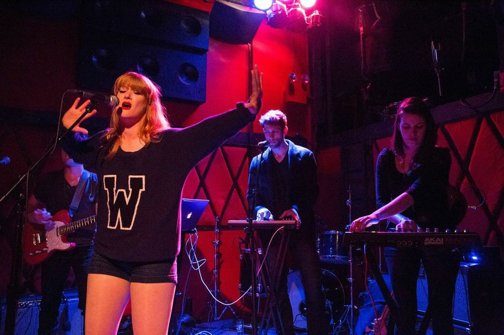 Emmy Wildwood at the Rockwood Music Hall