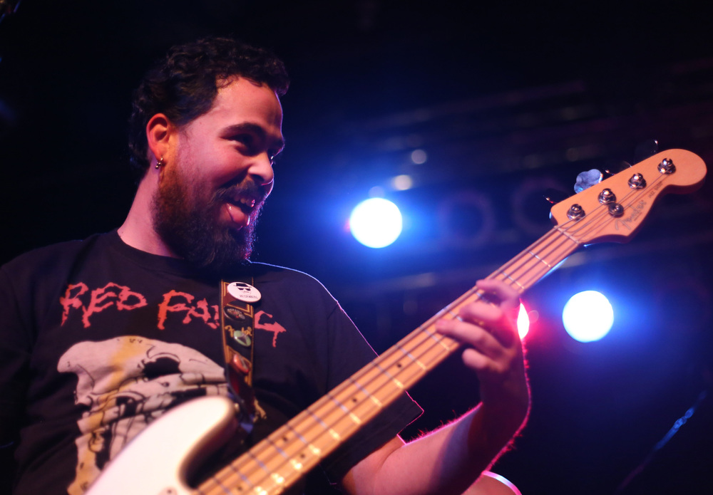 Superchief bassist James Segovia // Brenna Norman