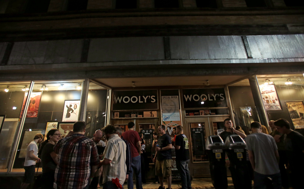 Crowd Outside Wooly's // Brenna Norman