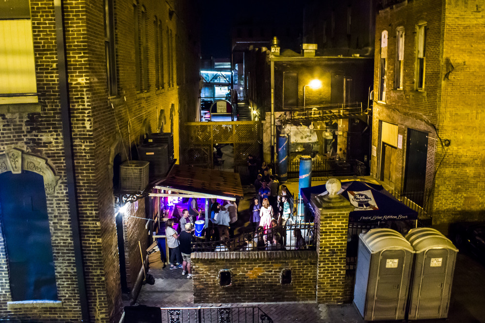 PBR Bar, nestled in the alley between Vaudeville Mews and the Royal Mile re-opened May 23 // Photos by Cody Osen