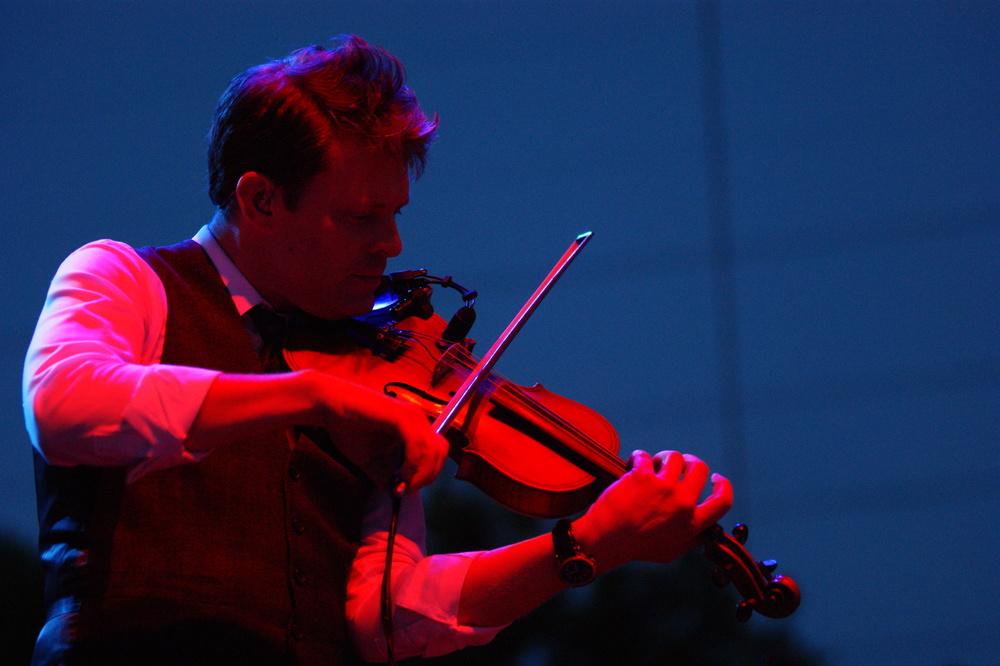 Violinist Luke Bulla // Chad Taylor