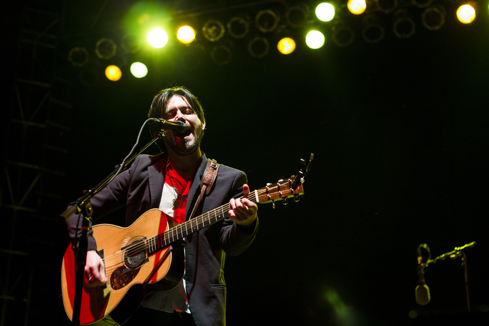 Conor Oberst headlining the main stage // Cody Osen