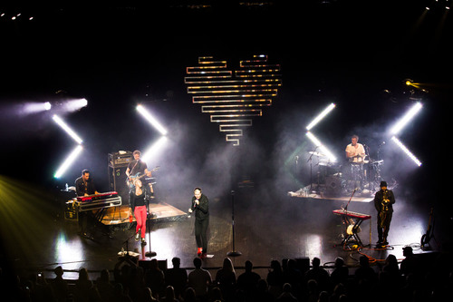 Fitz and the Tantrums at Stephens Auditorium back in November // photo by Cody Osen