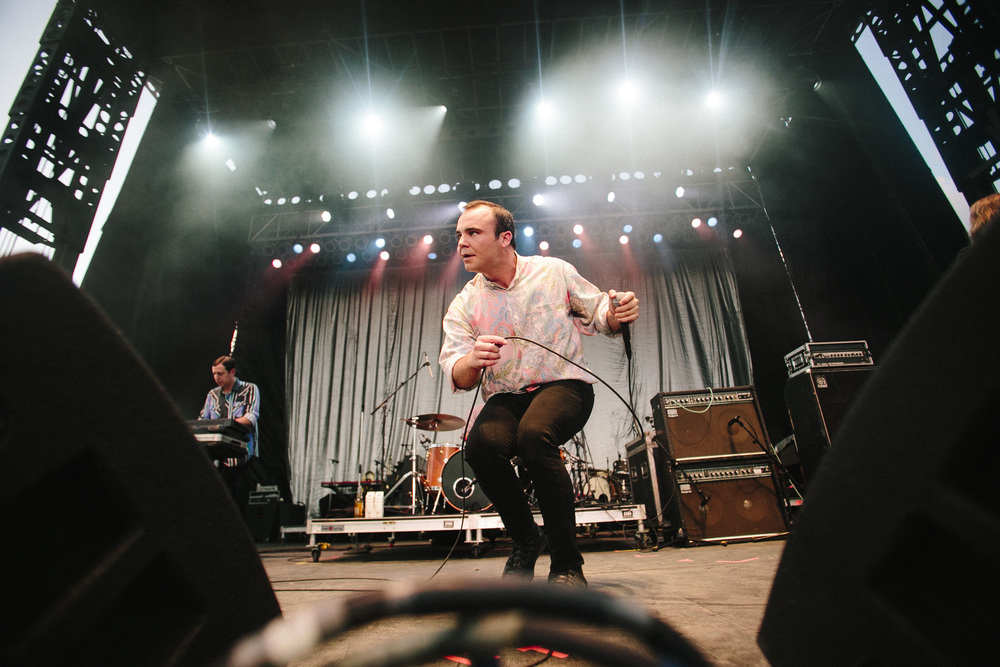 Future Islands//Photo by Brenna Norman