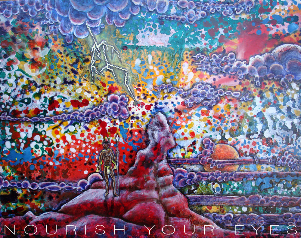 Kamehameha, Oil on Canvas, 2009