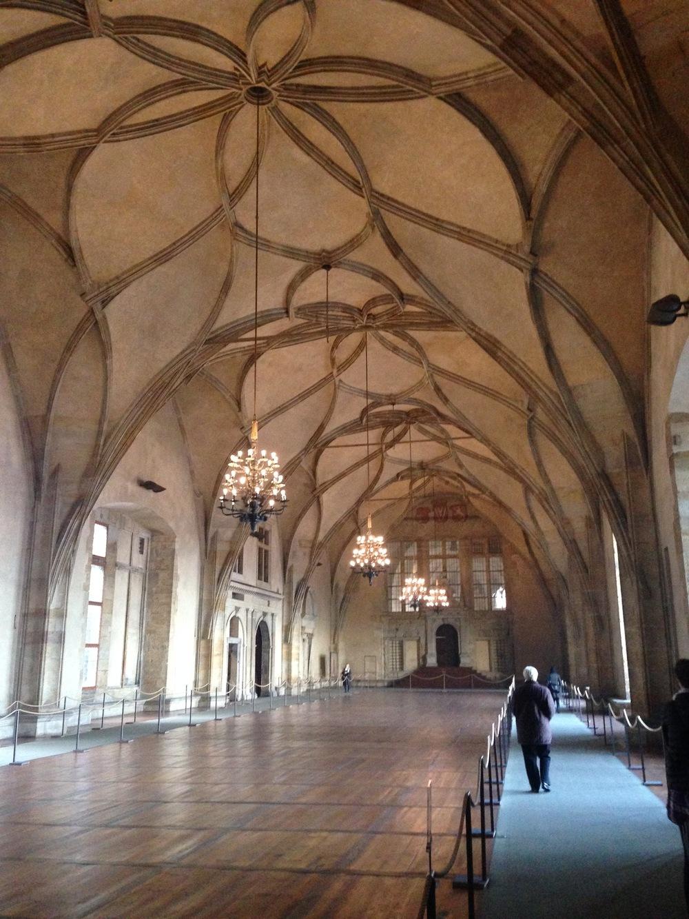 Prague Castle Ballroom  Prague