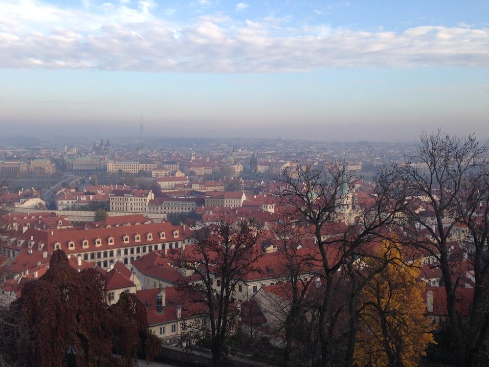 View at Prague Castle   Prague