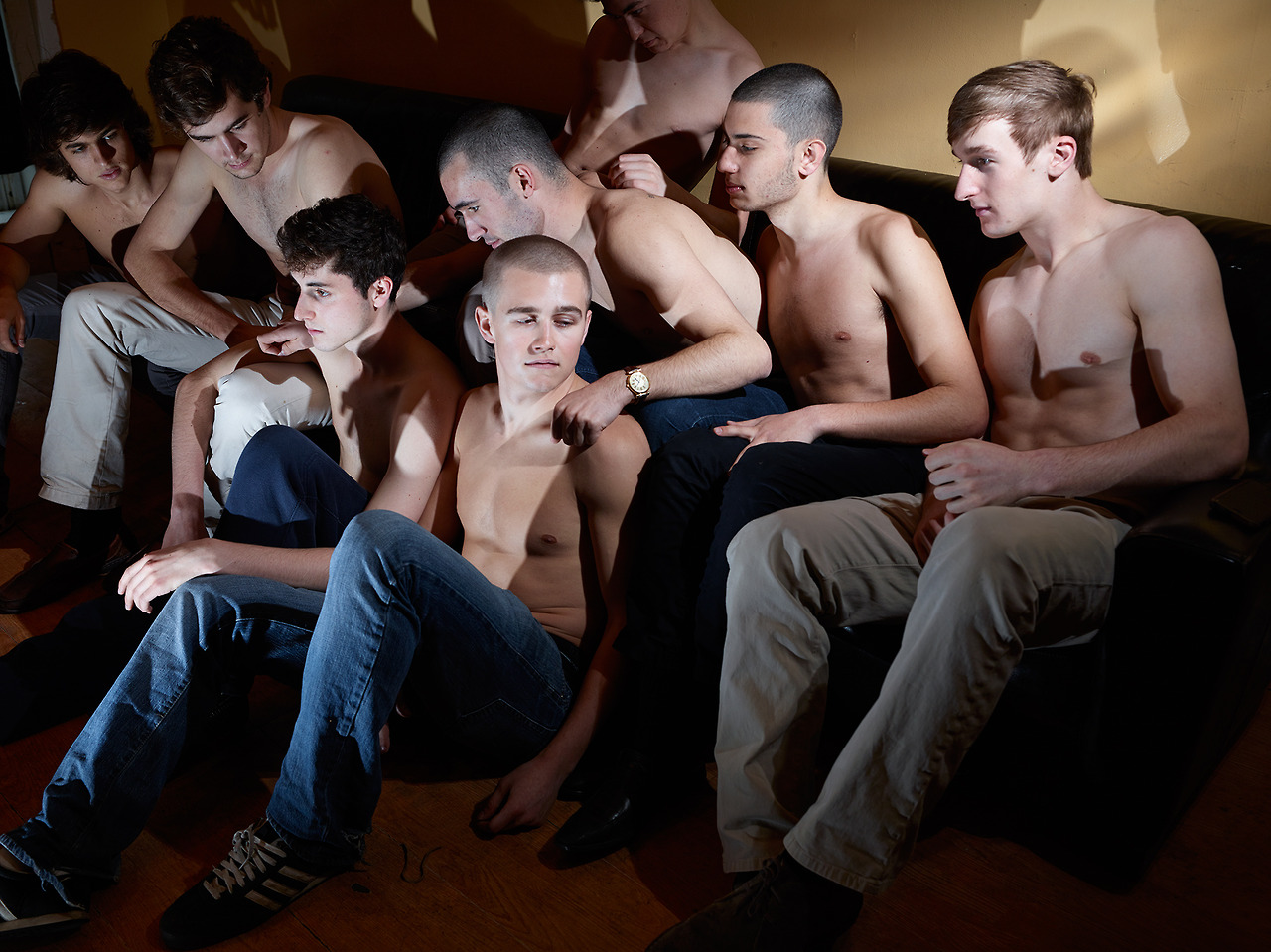 latitudechicago: Panel Discussion: The role of MFA Programs on young working artists.At LATITUDE, JULY 24TH, 7:30PM CST. Photograph: Marzena Abrahamik,Pledge Boys,2013. Check out this panel discussion, which will feature Justin Schmitz & Marzena Abrahamik (whose work is currently on view inShannon) and Johalla Projects Director/Founder Anna Cerniglia, among some awesome others!