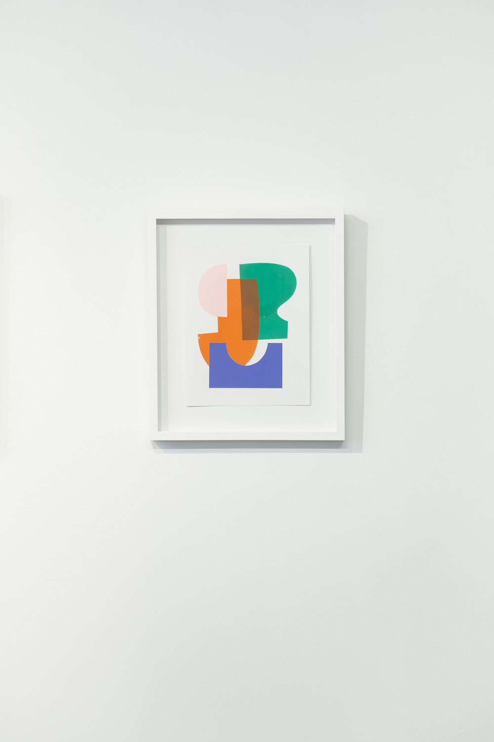 Junior  , 2014 Silkscreen and cut paper on bristol board, framed 17 x 20 inches