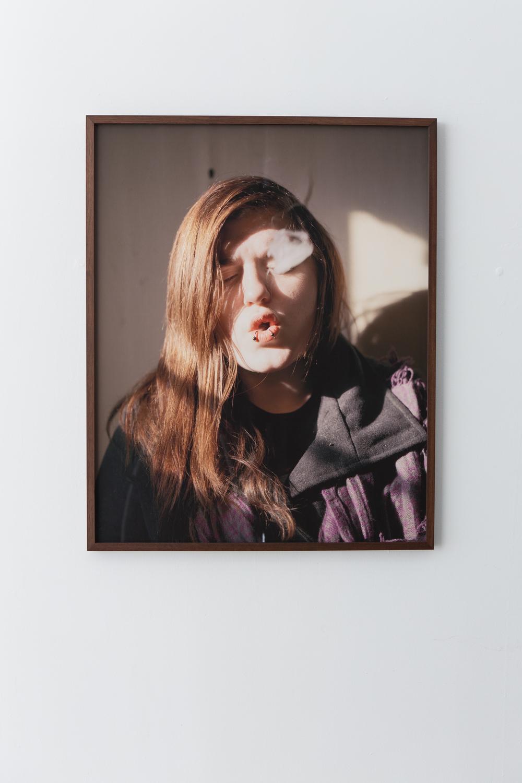 Stephanie Smoking, 2012