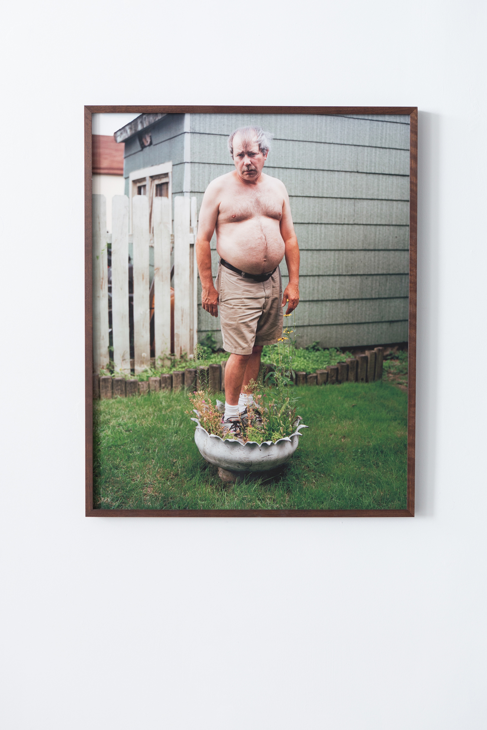My Dad Standing in the Flower Pot, 2009