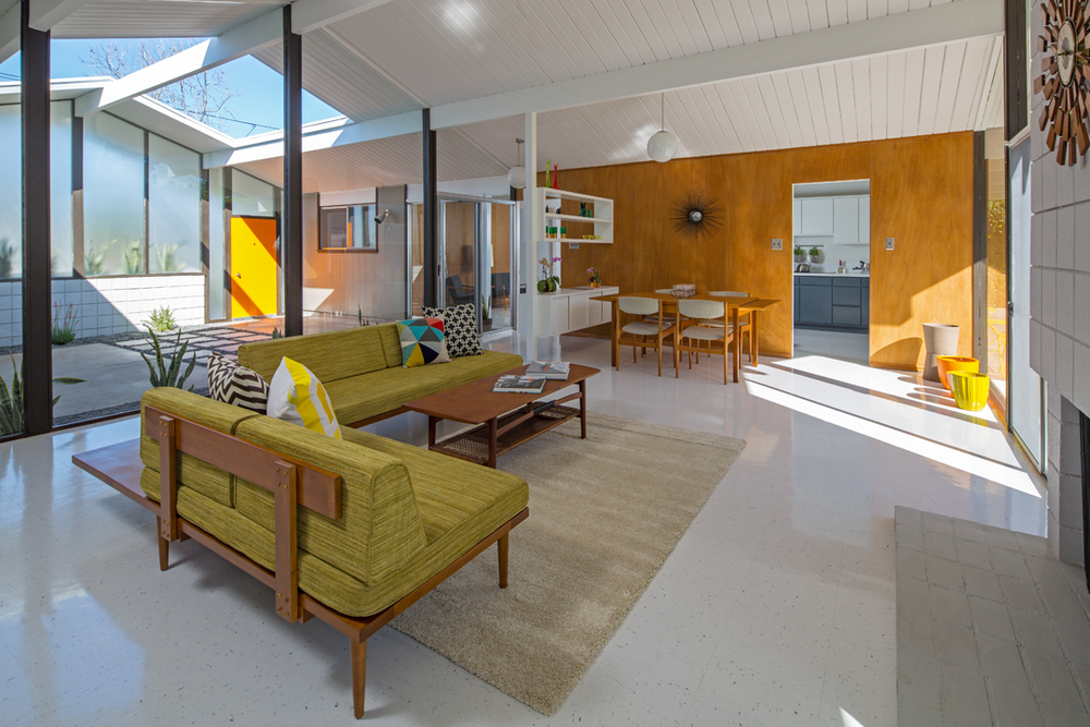 Eichler Atrium Floor Plan Wonderful Home Decorations Design list of things