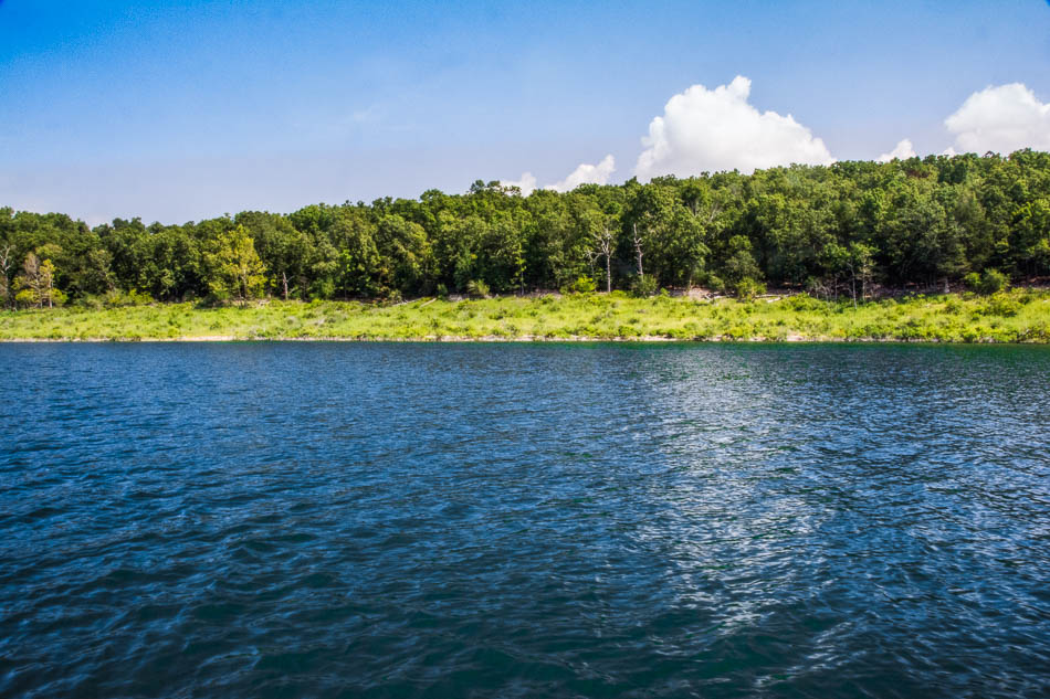 Bull Shoals Lake land near Theodosia Missouri