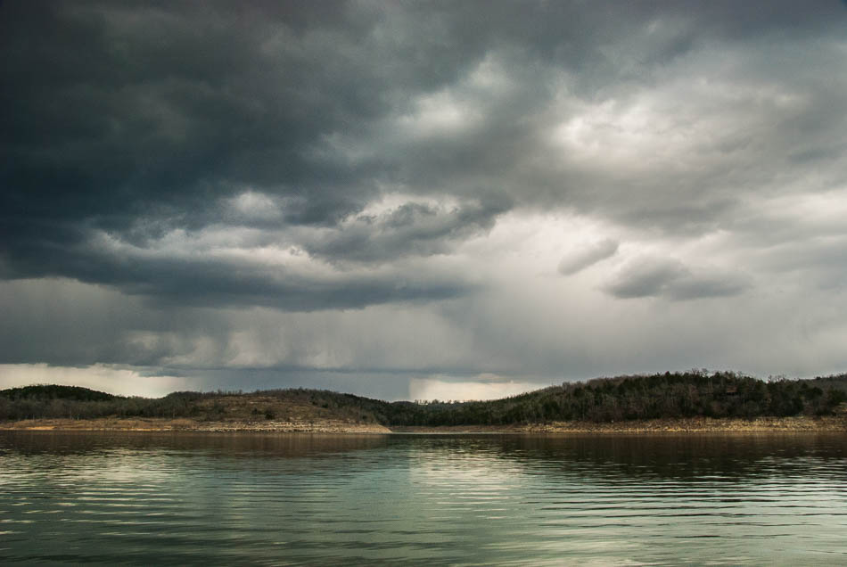 Storm Brewing at Bull Shoals Lake