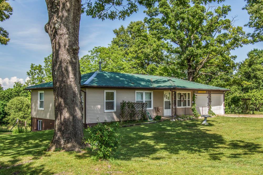 Theodosia, Missouri home near town on 3.8 acres