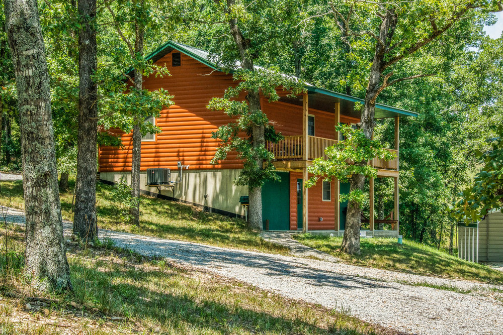 2 bedroom, 2 bath new home for sale between Gainesville, Missouri and Bull Shoals Lake