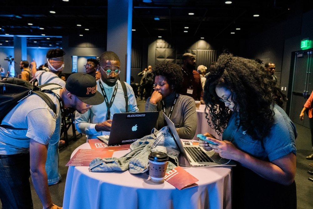 Credit: Andre Pennycooke | Attendees at the 2016 AfroTech conference