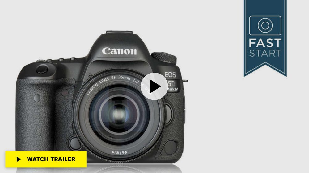 Canon® EOS 5D Mark IV Fast Start Class at CreativeLive