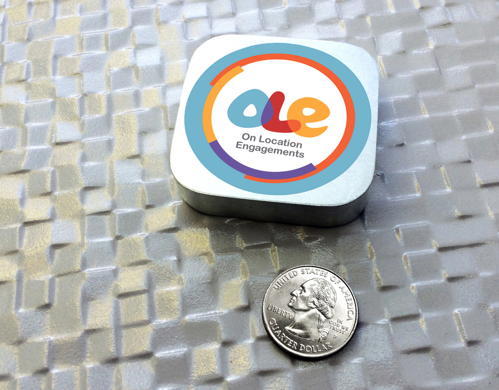 OLE Bluetooth LE Beacon for iPhone only