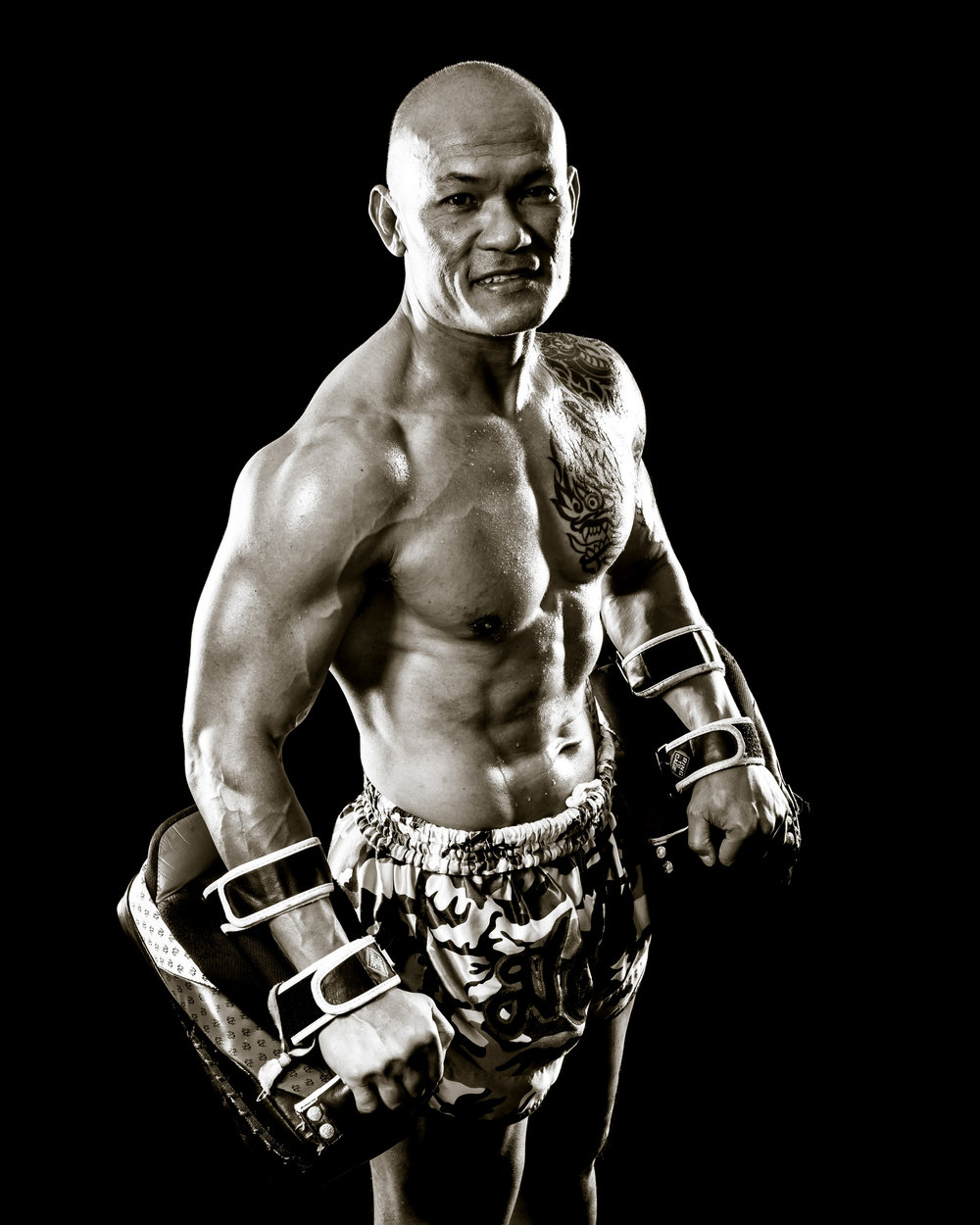 Muay Thai Instructor Dan King