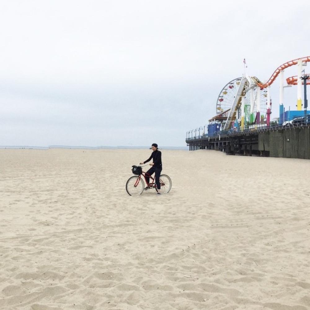 Santa Monica taken for Guardian Travel