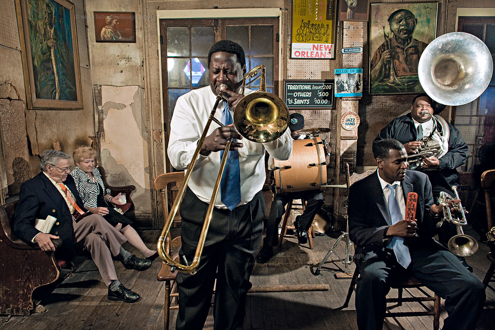 Preservation Hall, New Orleans © Bill McCullough
