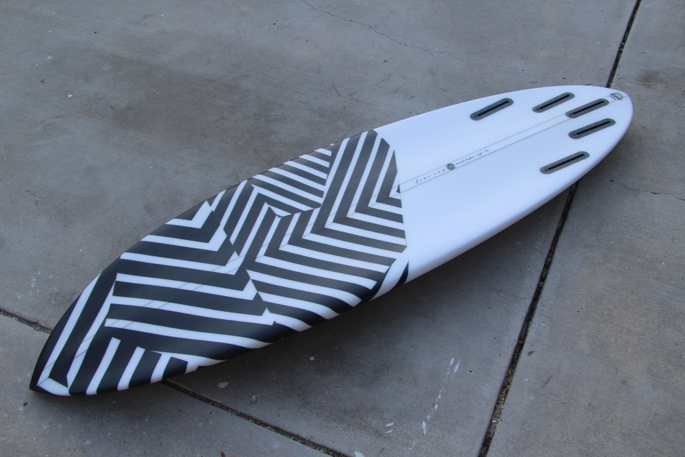 "Special Ops, 5'8"" x 19 3/4"" x 2 1/2"""