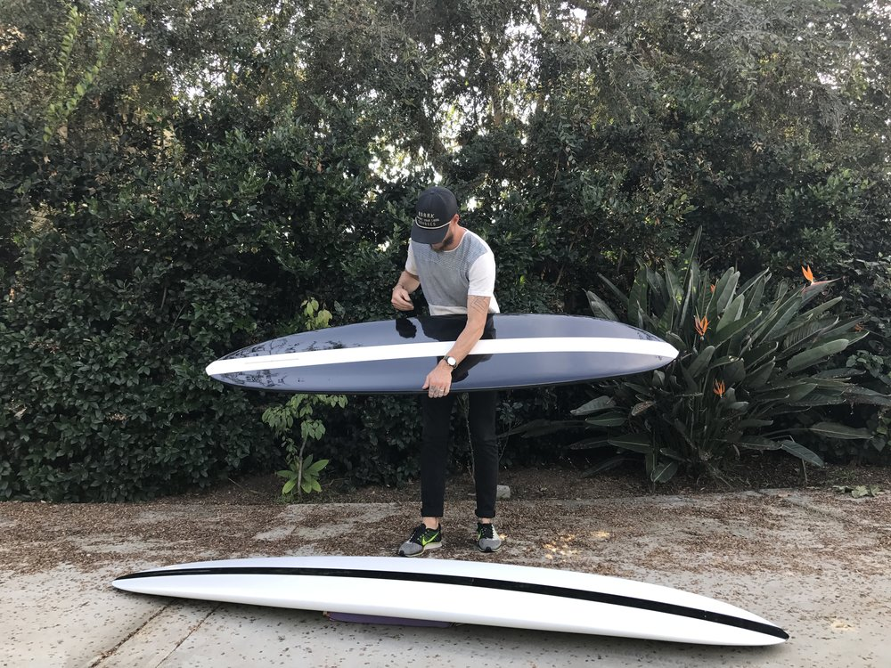 "Glider Eggs, 7'0"" & 8'0"" (resin panels)"