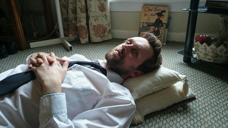 Matt lying on the floor