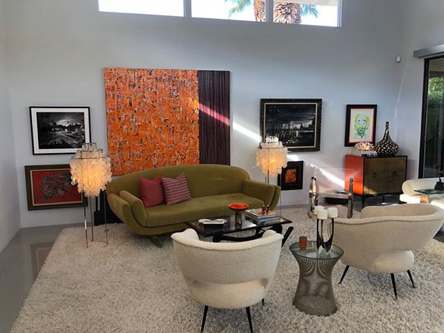 Palm Springs stylin. Thank you for sharing your home@PalmSprings Modernism