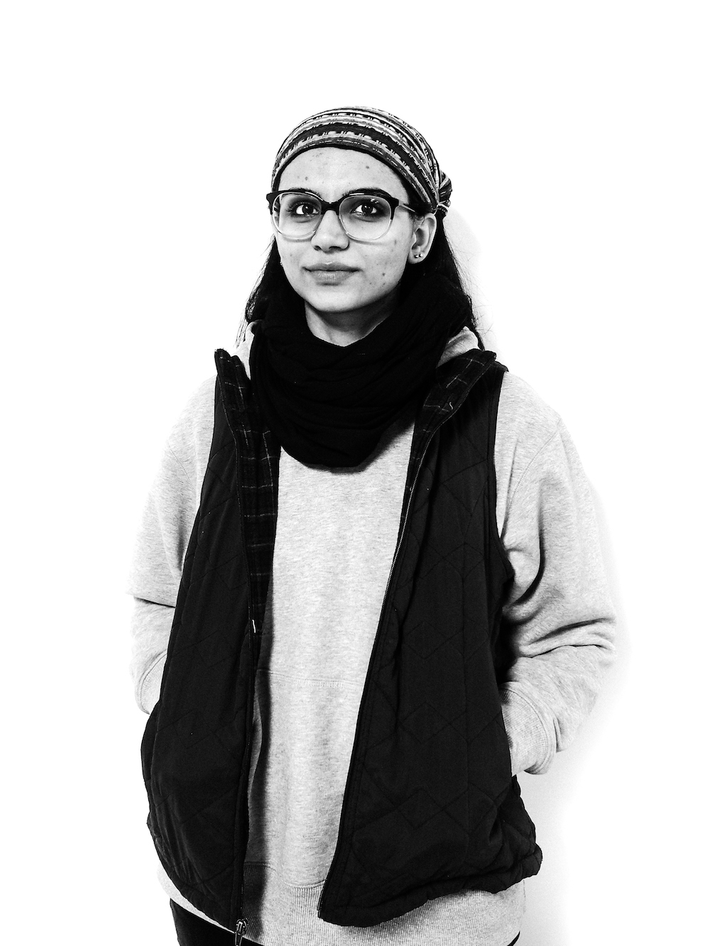 Sobia Ahmad - Muslim CohortSponsor: IM WISESobia Ahmad is an interdisciplinary artist whose work explores themes of identity and belonging through concepts of dichotomy and duality - ideas of the permissible and forbidden, revealing and concealing, public and private, purity and impurity, freedom and oppression. Often inspired by her personal experiences of being an immigrant, a Muslim, and a female in the U.S., her work is an investigation of both individual and collective experiences shaped by sociopolitical ideologies. Ahmad's work has been included in the Sadat Art for Peace permanent collection, and has been displayed in the Washington D.C. metro area, in Los Angeles at the Craft and Folk Art Museum, and in several other cities including Chicago, Seattle, and London.www.sobiaahmad.com Instagram: @sobia.ahmad.art