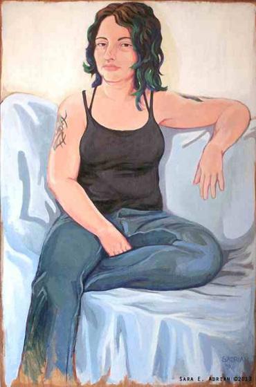 Portrait of Bela Grimm