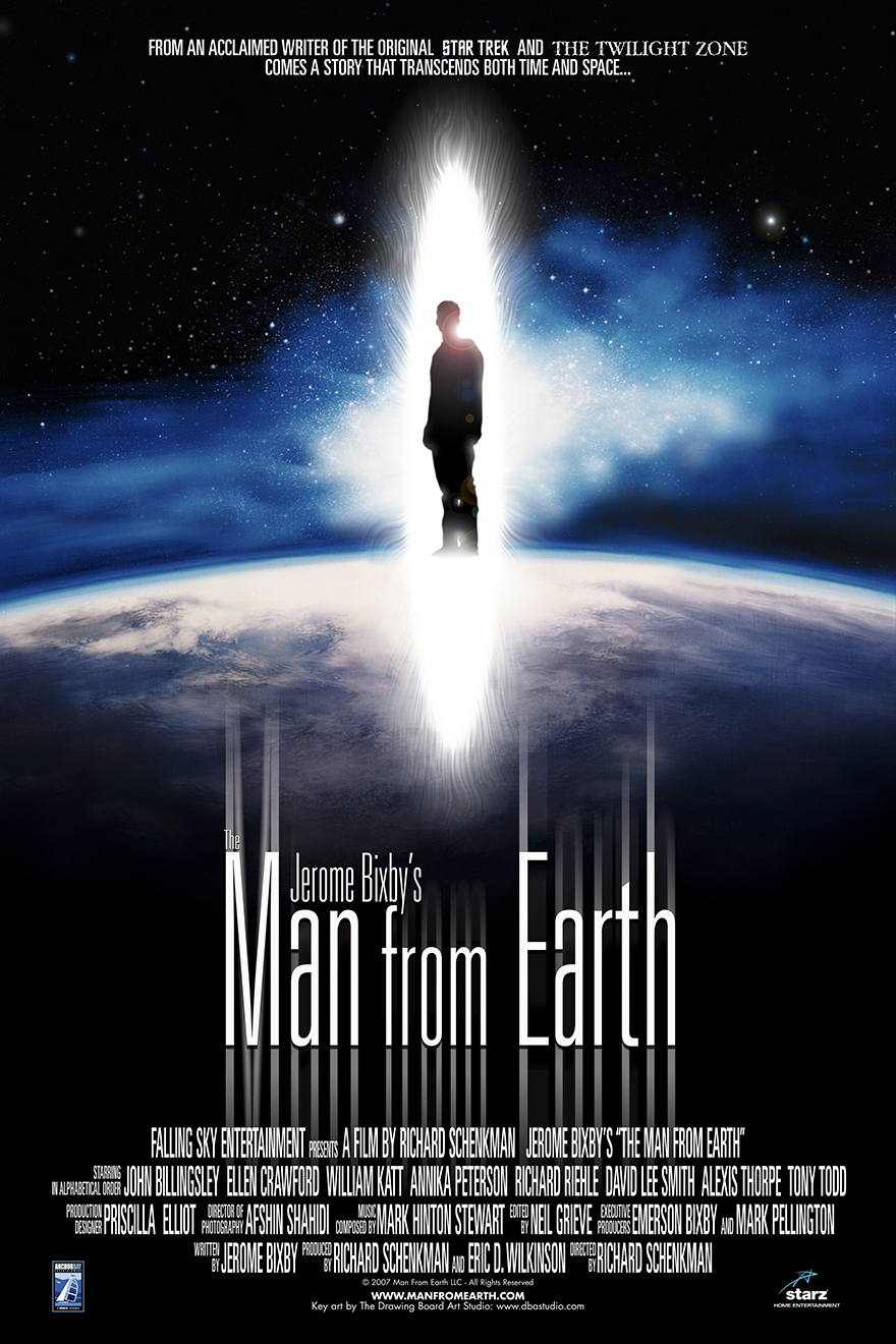 "Official Poster for ""Man From Earth"""